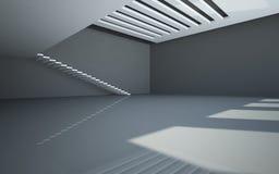 abstrakcjonistyczny balkonowy wewnętrzny biel Zdjęcie Royalty Free