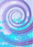 Abstrakcjonistyczny bełkowiska tło (żadny siatka) Fotografia Royalty Free