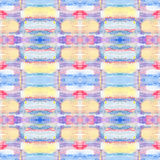 Abstrakcjonistyczny bezszwowy akrylowy ornamentacyjny wzór Bezszwowa tekstura w impresjonizmu stylu dla sieci, druk, opakunki, tk Zdjęcia Royalty Free