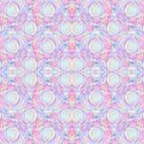 Abstrakcjonistyczny bezszwowy akrylowy ornamentacyjny wzór Bezszwowa tekstura w impresjonizmu stylu dla sieci, druk, opakunki, tk Fotografia Stock
