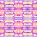 Abstrakcjonistyczny bezszwowy akrylowy ornamentacyjny wzór Bezszwowa tekstura w impresjonizmu stylu dla sieci, druk, opakunki, tk Obrazy Stock