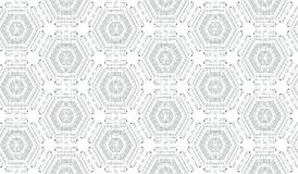 Abstrakcjonistyczny Bezszwowy Bitmap tła wzór - tekstury płytka ilustracji