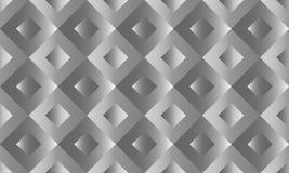 Abstrakcjonistyczny bezszwowy 3D tło kolorowych deseniowych planowanymi różnych możliwych wektora Obrazy Royalty Free