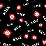 Abstrakcjonistyczny bezszwowy deseniowy czarny Piątek sprzedaży układu tło Dla sztuka szablonu projekta, lista, strona, mockup br ilustracja wektor