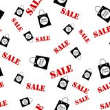 Abstrakcjonistyczny bezszwowy deseniowy czarny Piątek sprzedaży układu tło Dla sztuka szablonu projekta, lista, strona, mockup br royalty ilustracja
