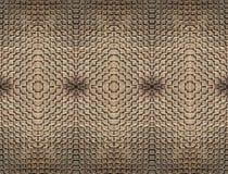 Abstrakcjonistyczny bezszwowy dywan cegły iluminować słońcem i pleśnieć wpólnie symmetrically/wyśmienity kamieniarstwo obrazy royalty free