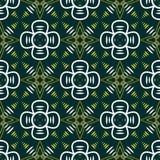 Abstrakcjonistyczny bezszwowy geometryczny contrasty wzór Zdjęcie Stock