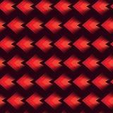 Abstrakcjonistyczny bezszwowy geometryczny deseniowy tło w czerwonym kolorze dla tekstylnego druku ilustracji