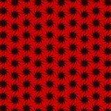 Abstrakcjonistyczny bezszwowy geometryczny wzór z dziesięć gwiazdowym kątem zdjęcia royalty free