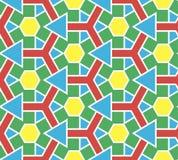 Abstrakcjonistyczny bezszwowy koloru wzór obraz stock