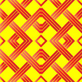 Abstrakcjonistyczny bezszwowy koloru wzór Zdjęcia Royalty Free