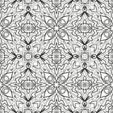 Abstrakcjonistyczny bezszwowy konturu wzór Fotografia Royalty Free