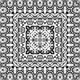 Abstrakcjonistyczny bezszwowy konturu wzór Obraz Stock