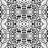 Abstrakcjonistyczny bezszwowy konturu wzór ilustracji