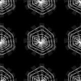 Abstrakcjonistyczny bezszwowy koronka wzór Fotografia Royalty Free