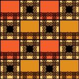 Abstrakcjonistyczny bezszwowy koronkowy kwiecisty deseniowy tekstury tło Obrazy Stock