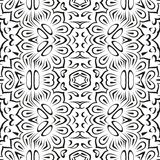 Abstrakcjonistyczny bezszwowy kwiecisty tło Obrazy Stock