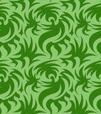 Abstrakcjonistyczny bezszwowy organicznie wzór również zwrócić corel ilustracji wektora Obraz Royalty Free