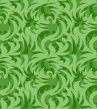 Abstrakcjonistyczny bezszwowy organicznie wzór również zwrócić corel ilustracji wektora Zdjęcia Royalty Free