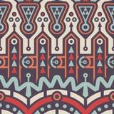 Abstrakcjonistyczny Bezszwowy sztuka współczesna wzór dla Tekstylnego projekta Fotografia Royalty Free