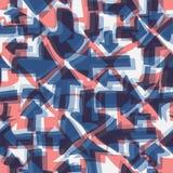 Abstrakcjonistyczny bezszwowy tło z strzała Obrazy Royalty Free