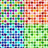 Abstrakcjonistyczny bezszwowy tło. Tekstura - ilustracja. Zdjęcie Stock
