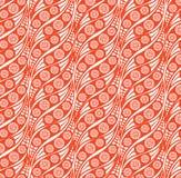 Abstrakcjonistyczny bezszwowy tło w 1960s stylu Fotografia Stock