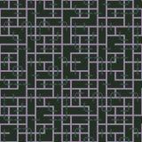 Abstrakcjonistyczny bezszwowy wektoru wzór przecinać kwadratowego ornament Obrazy Royalty Free