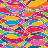 Abstrakcjonistyczny bezszwowy wzór Obraz Stock