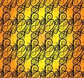 Abstrakcjonistyczny bezszwowy wzór Obrazy Royalty Free