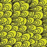 Abstrakcjonistyczny bezszwowy wzór Zdjęcie Royalty Free