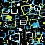 Abstrakcjonistyczny bezszwowy wzór barwiony ilustracja wektor