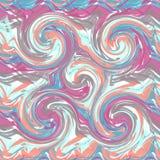 Abstrakcjonistyczny bezszwowy wzór farb uderzenia Obraz Stock