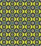 Abstrakcjonistyczny bezszwowy wzór. geometryczny ornament Zdjęcia Stock