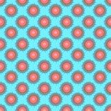 Abstrakcjonistyczny bezszwowy wzór - kolorów kleksy. Fotografia Royalty Free