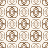 Abstrakcjonistyczny bezszwowy wzór Kolor przemiana Obraz Royalty Free
