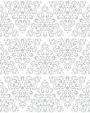 Abstrakcjonistyczny bezszwowy wzór w rocznika stylu Łączyć kształty i tekstury royalty ilustracja