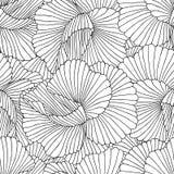 Abstrakcjonistyczny bezszwowy wzór. Wektorowy tło. Obraz Stock