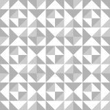 Abstrakcjonistyczny bezszwowy wzór z trójbokami Obraz Stock
