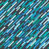 Abstrakcjonistyczny bezszwowy zaokrąglony prostokąta wzór Fotografia Stock