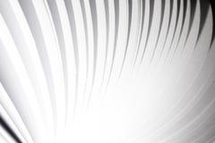 Abstrakcjonistyczny białego papieru strony latania książki tło zdjęcia royalty free