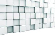 Abstrakcjonistyczny biały architektury tło Blok ściana royalty ilustracja