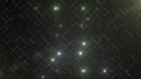 Abstrakcjonistyczny biały i zielony błyskotliwość cząsteczek tło Luksusowy premia produktu projekta szablonu tło lekka magia zdjęcie wideo