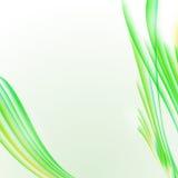 Abstrakcjonistyczny biały tło z żółtą zielenią paskował teksturę, bla royalty ilustracja