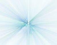 Abstrakcjonistyczny biały tło z błękitną perspektywiczną promień teksturą Obrazy Royalty Free