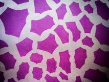 Abstrakcjonistyczny Biały tło z ciemnymi Fiołkowymi punktami zdjęcie royalty free