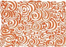 Abstrakcjonistyczny biel fala t?o ilustracja wektor