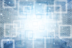 Abstrakcjonistyczny binarny liczba dane tło Zdjęcie Stock