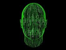 abstrakcjonistyczny binary Zdjęcie Royalty Free
