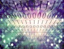 abstrakcjonistyczny binary Zdjęcie Stock